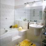 Дизайн малогабаритной ванной комнаты: как правильно оформить стены и установить зеркала для визуального увеличения пространства