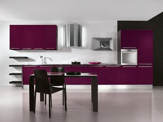 Дизайн мебель кухня цветы