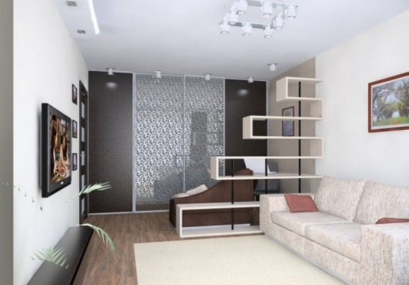 Дизайн однокомнатной квартиры варианты