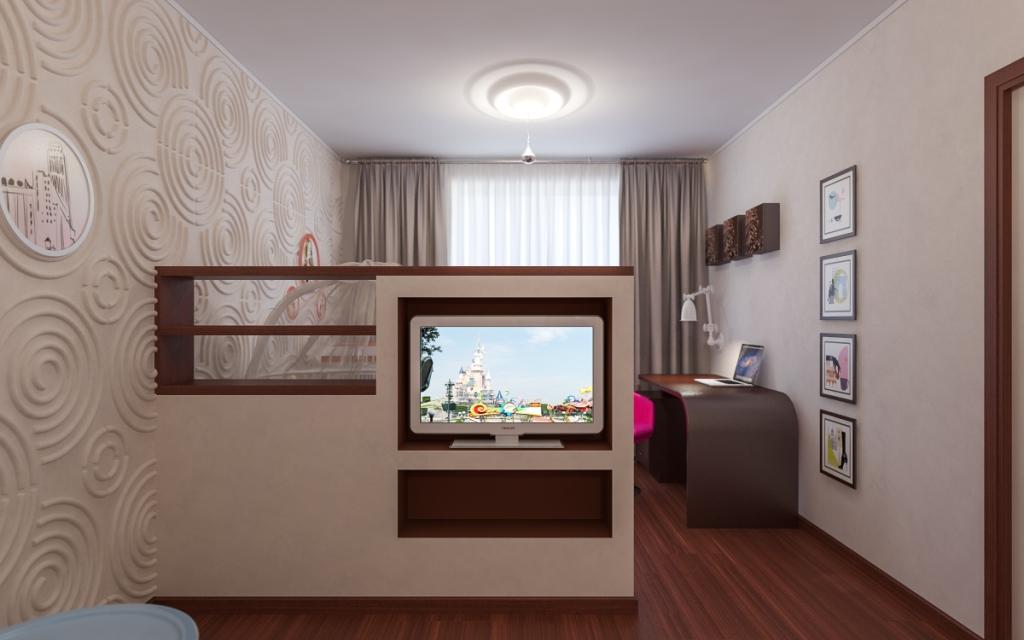 Дизайн однокомнатных квартир 36 кв.м с ребенком