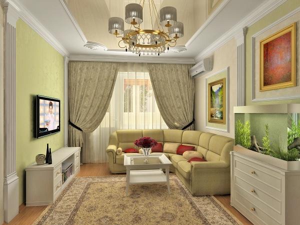 Дизайн квартиры И-209А в Москве: цены на услуги дизайна