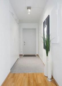 Плитка в прихожей на полу с ламинатом фото дизайна