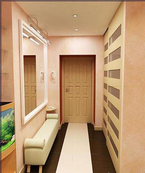 Интерьер коридора - 5 фото-идей - - Дизайн прихожей