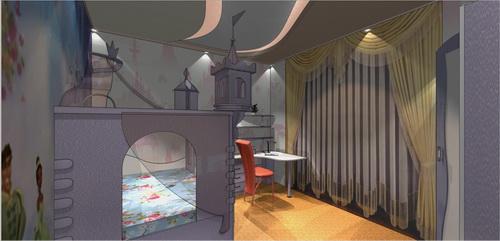 дизайн проект детской комнаты для девочки