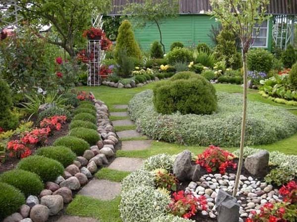 интерьер сада своими руками фото