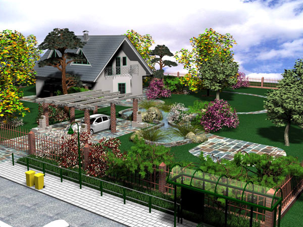 Дизайн сада своими руками создаем