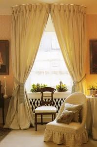дизайн штор в гостинную