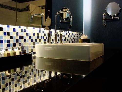 дизайн совмещенной ванной комнаты с туалетом