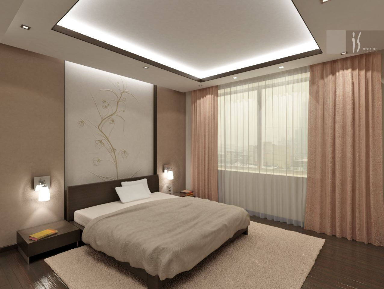 Дизайн ремонт спальня фото