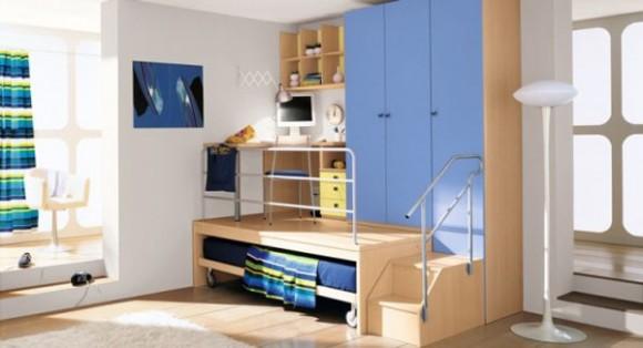 Дизайн спальни для юноши