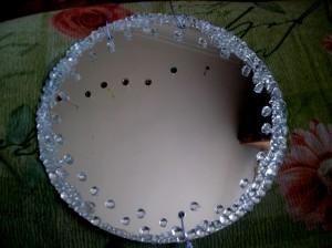 дизайн стен зеркалами
