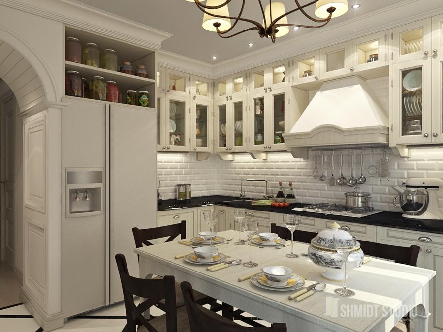 Кухня ремонт дизайн 9 кв м своими руками