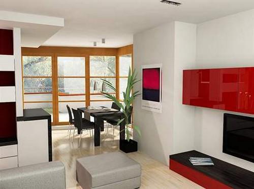 Дизайн гостиной в частном доме с одним окном фото