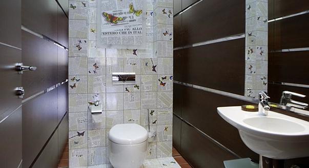 Дизайн интерьер туалет