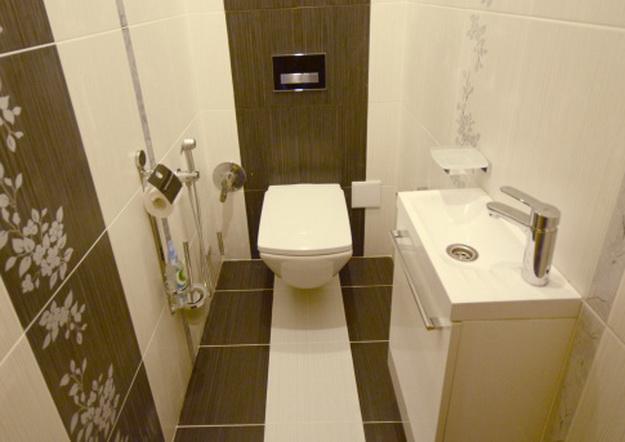 Дизайн ванных комнат и туалетов в панельных