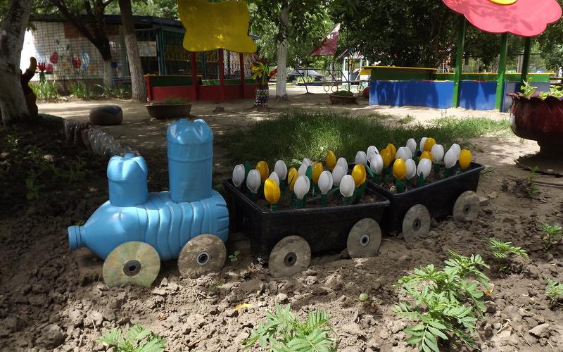 Дизайн участка детского сада своими руками на участке 79