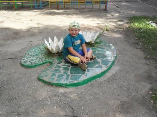Дизайн территории детского сада