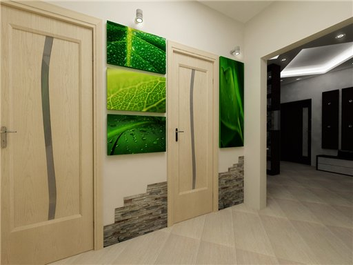 Дизайн коридора в малогабаритных квартирах