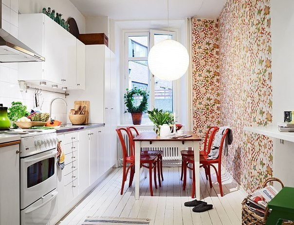длинная и узкая кухня дизайн фото