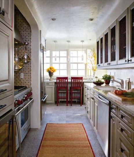 Кухни узкие интерьер