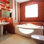 Дизайн ванной комнаты в коттедже