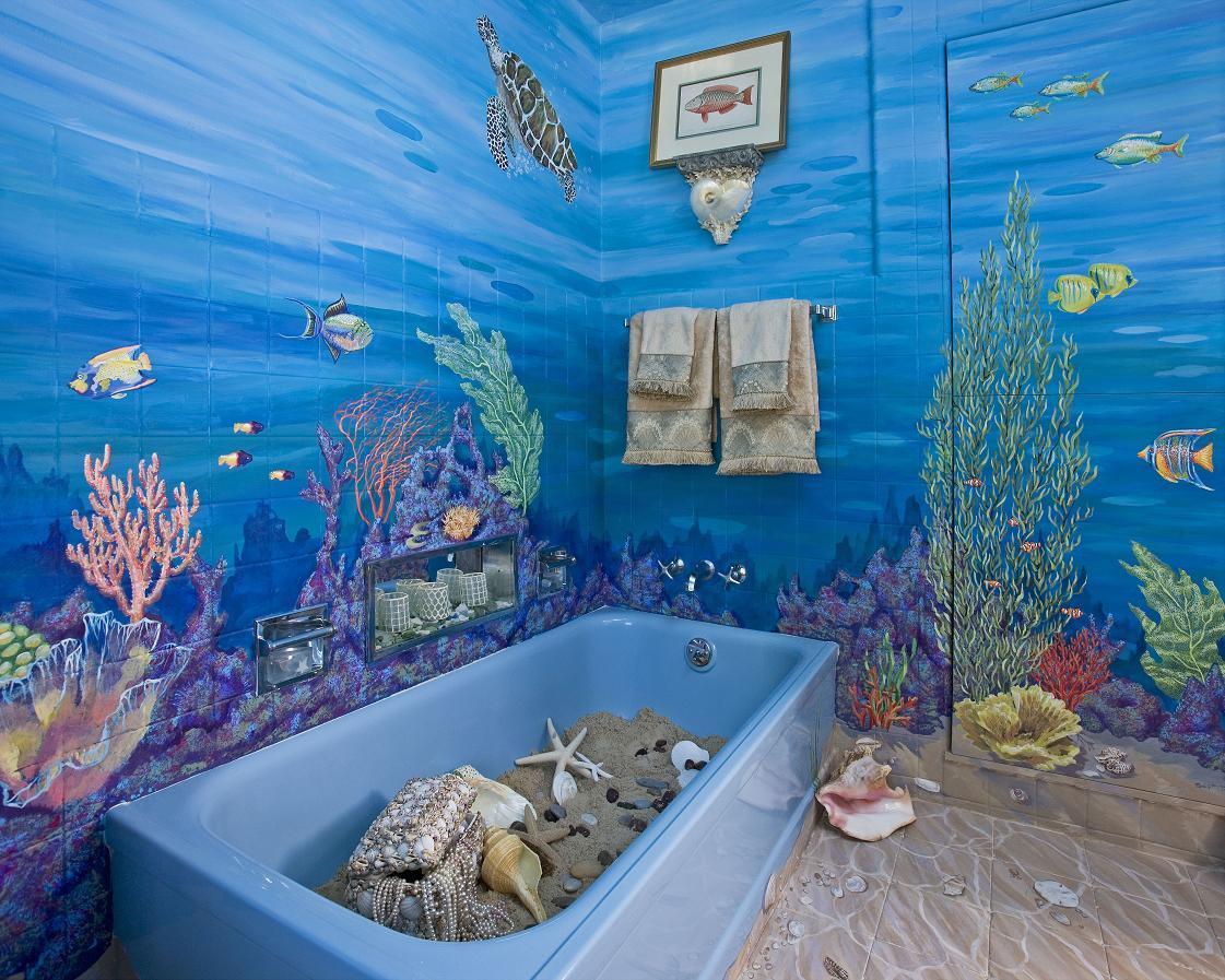 дизайн ванной комнаты в малогабаритной квартире