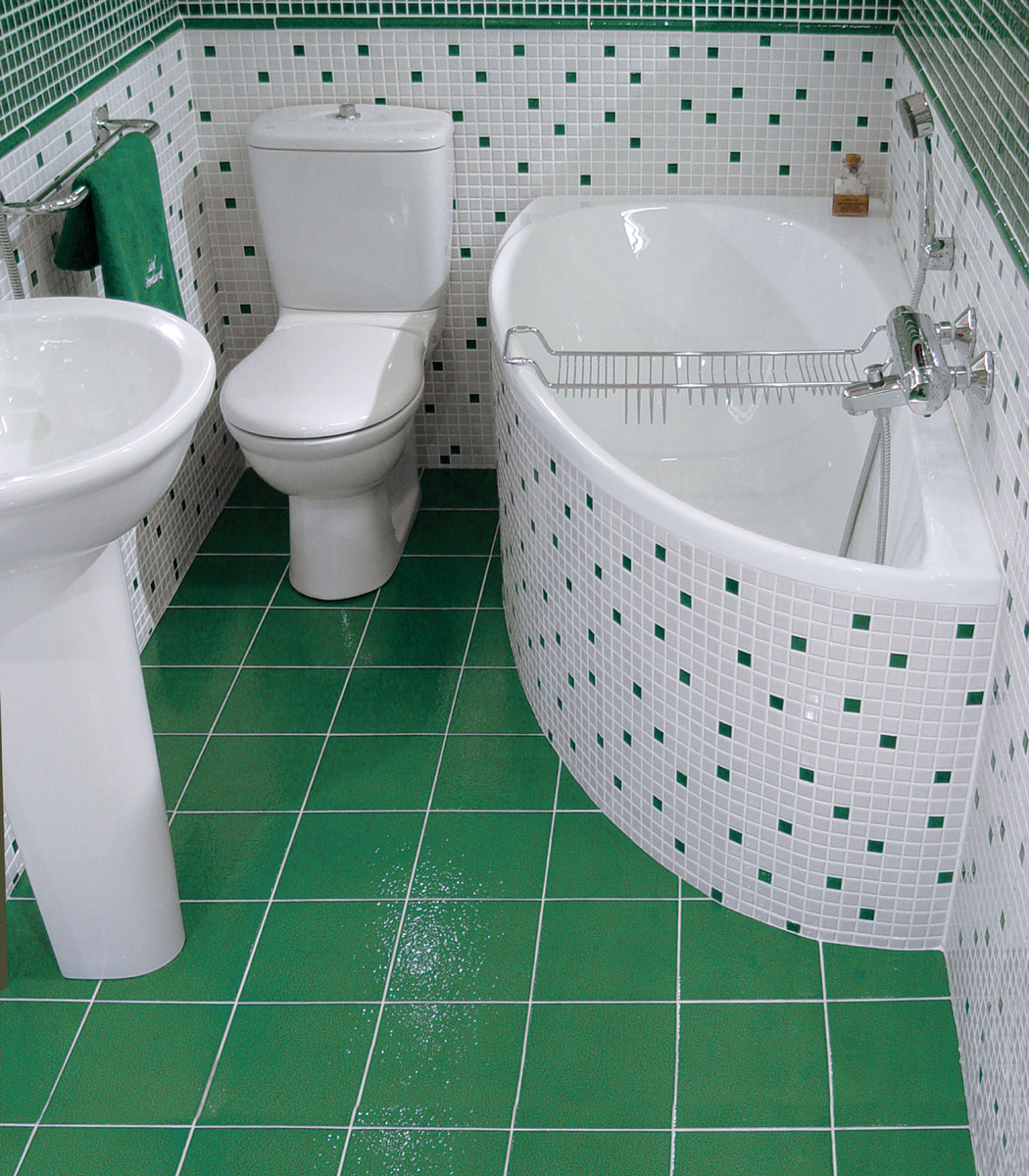 Пример дизайна ванной комнаты в