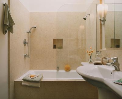 Ванная комната 1 на 2 дизайн