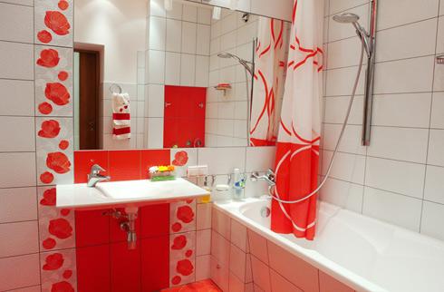 Отделка ванной комнаты плиткой дизайн 6 кв метров