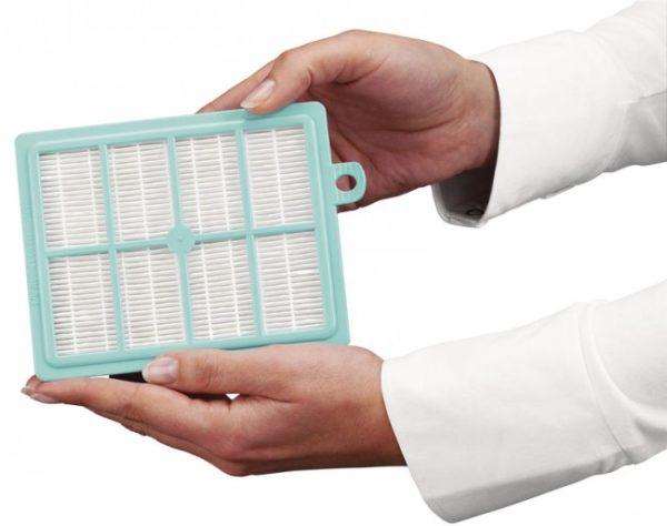 Дополнительный НЕРО-фильтр для удаления мелкой пыли.
