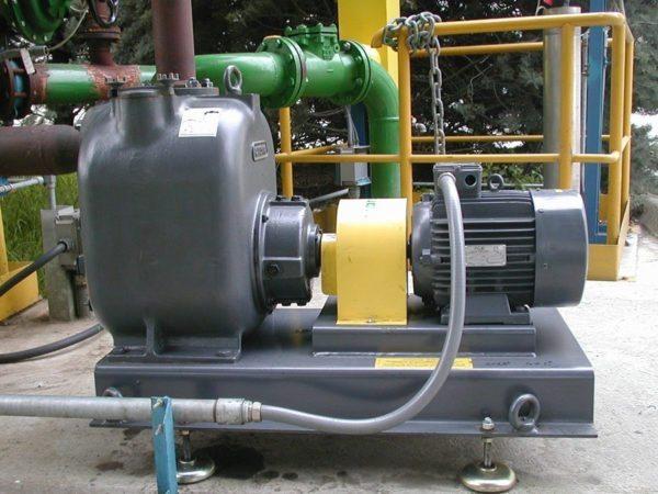 Эксплуатация насосов типа К в промышленности для откачки нефтепродуктов