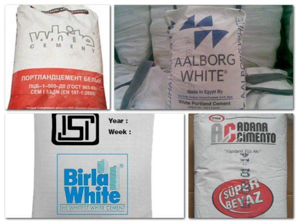 Если хотите узнать, что выбрать из разнообразия белых цементов, представленных в продаже, читайте дальше