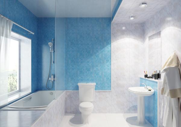 Если все сделано аккуратно, то внешний вид ванной будет отличным