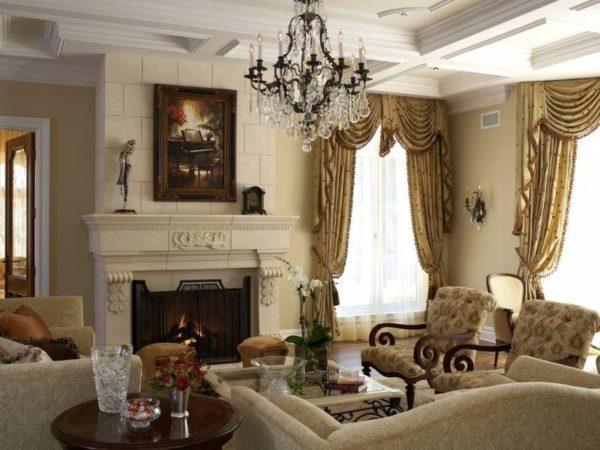 Фальшь камин в квартире придаст интерьеру изысканность.