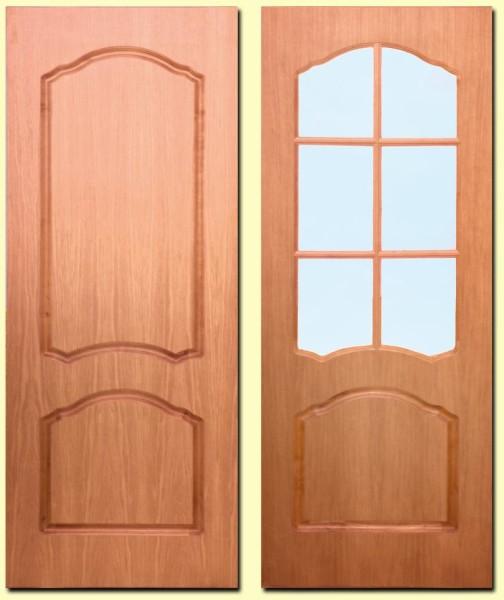 Филёнчатые и остеклённые двери из MDF