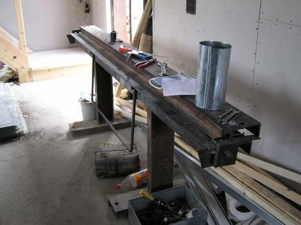 Фото самодельного листогибочного оборудования