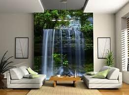 Фотообои с изображением водопада