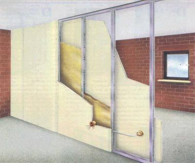 Гипсокартонные конструкции позволяют прекрасно разделить пространство помещения, но при этом, ни в коем случае нельзя забыть о предварительном планировании прохода или, тем более, дверного проёма