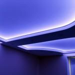 Крепление светодиодной ленты в нише из гипсокартона