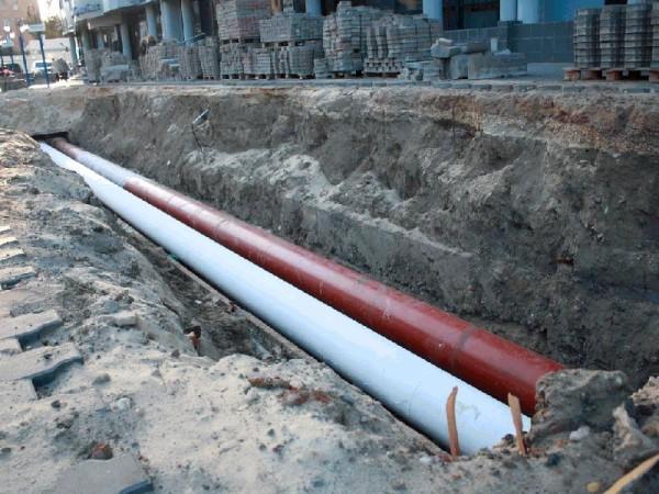 Хорошая стойкость к внешним воздействиям позволяет применять теплоизоляцию для защиты тепловых сетей, проложенных в грунте