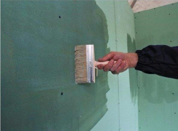 IN 10 можно использовать для грунтования гипсокартона и других отделочных материалов