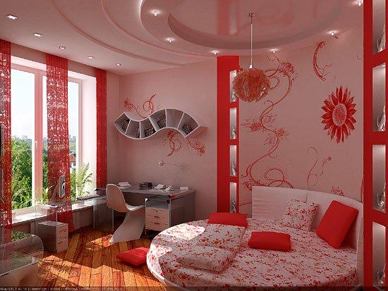 Необычные интерьеры комнат фото