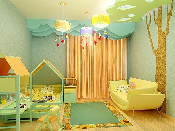 Ремонт детских комнат фото своими руками