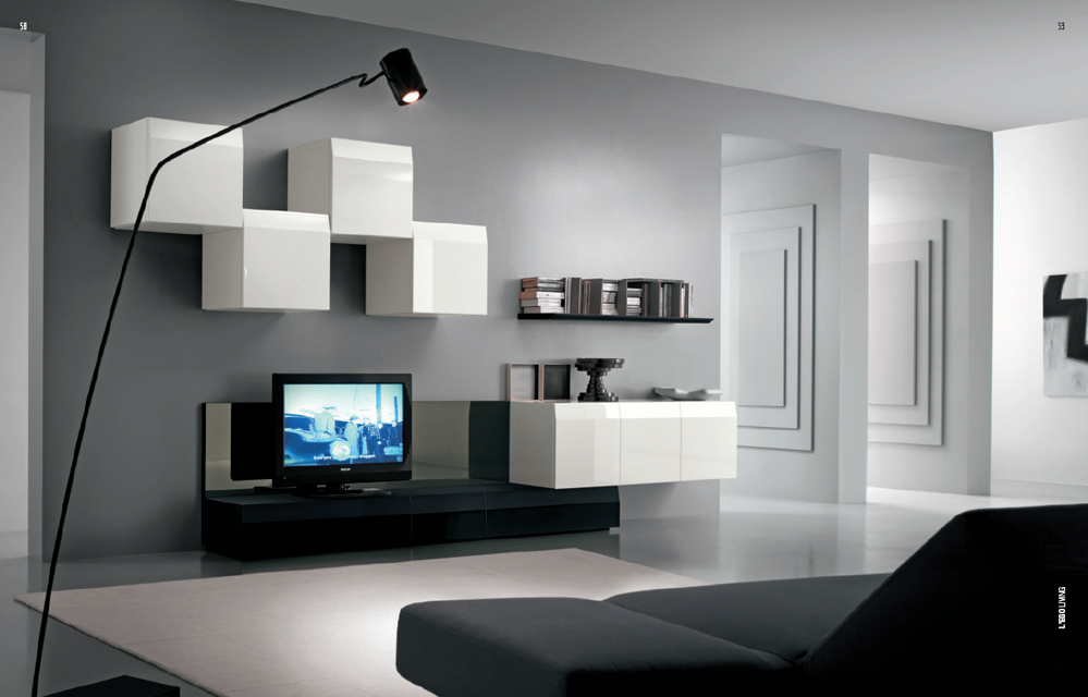 Stern supervision of tv furniture- bookcase. Length of manufacturing and tv unit accessories for tv