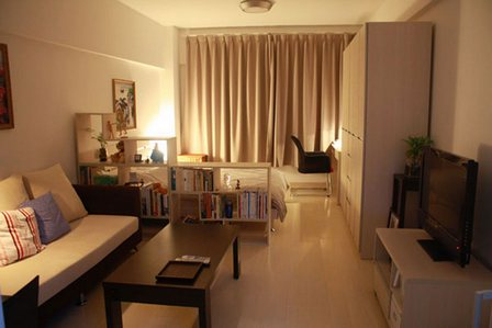 Дизайн комнаты на две зоны фото