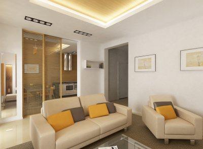 Дизайн проходной гостиной в хрущевке