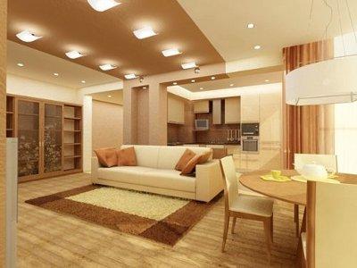 Интерьер гостиной и интересный дизайн