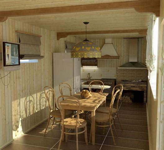 Дизайн кухонь на даче