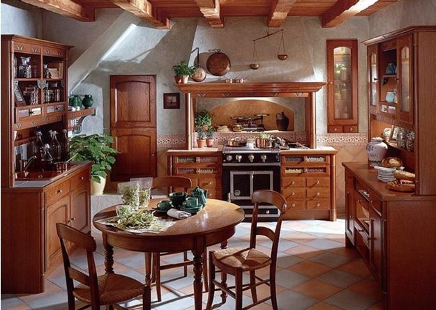 Кирпич кухня дизайн
