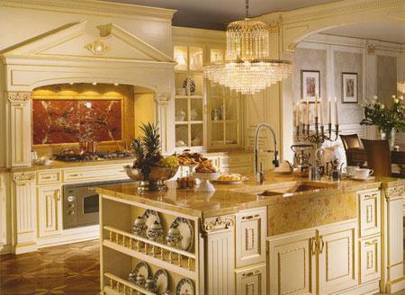 интерьер кухни итальянский